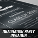Graduation Party Invitation - GraphicRiver Item for Sale