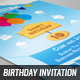 Birthday Invitation & Post Card - GraphicRiver Item for Sale