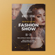 Winter Spring Fashion Show Poster