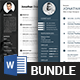 Resume/CV Bundle - GraphicRiver Item for Sale