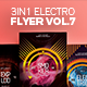 3 in 1 - Electro Flyer V.7 Bundle - GraphicRiver Item for Sale
