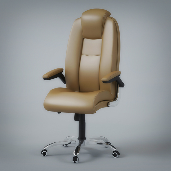 Office Rolling Chair - 3DOcean Item for Sale