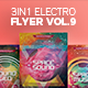 3 in 1 - Electro Flyer V.9 Bundle - GraphicRiver Item for Sale