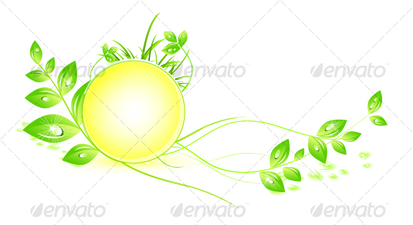 Abstract natural symbol - Nature Conceptual