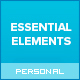 Essential Elements - Creative WordPress theme for writers and bloggers Nulled