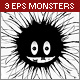Vector Monsters - GraphicRiver Item for Sale