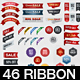 46 Sale Ribbon Set