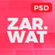 Zarwat Creative One Page PSD Template - ThemeForest Item for Sale