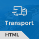 Trust Transport - Transportation and Logistics HTML Template Nulled