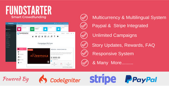 Fundstarter - Smart Crowdfunding - CodeCanyon Item for Sale