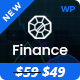 We Finance - Consulting Business, Finance WordPress Theme Nulled