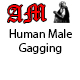 Human Male Gagging