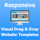 Visual Drag and Drop Bootstrap HTML Templates Creator - CodeCanyon Item for Sale