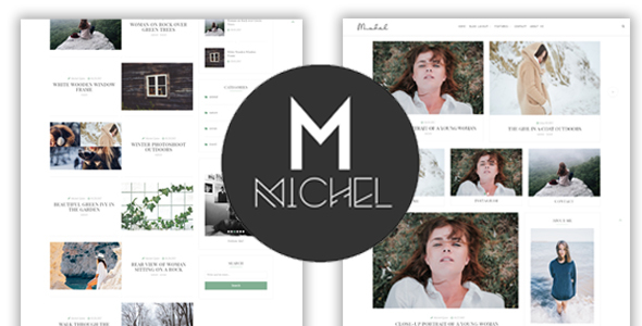 Michel – Clean & Elegant WordPress Blog Theme