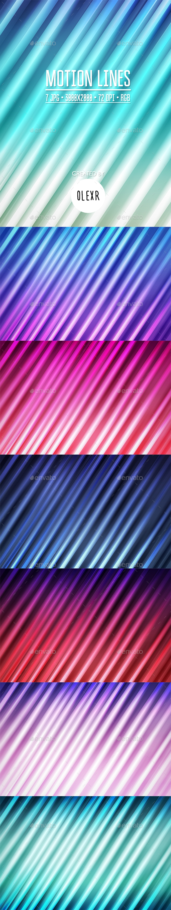Motion Lines Backgrounds - Abstract Backgrounds