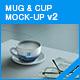 Mug & Cup Mock-up v2 - GraphicRiver Item for Sale