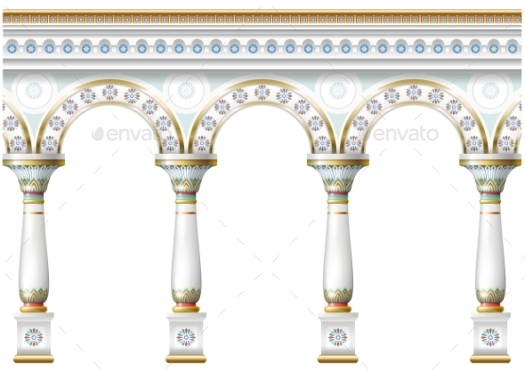 Facade with Ornament - Patterns Decorative