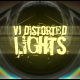 VJ Distorted Lights (4K Set 14)