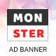 Monster | Business HTML 5 Google Banner - CodeCanyon Item for Sale