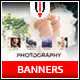 Photography Instagram Banners - GraphicRiver Item for Sale