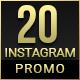 20 Instagram Promo - GraphicRiver Item for Sale