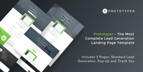Prototyper - Instapage Lead Generation Landing Page Template - Instapage Marketing