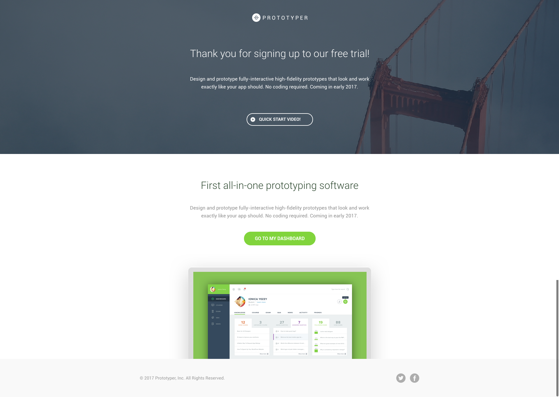Prototyper - Instapage Lead Generation Landing Page Template by ...