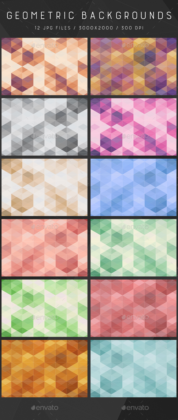 Geometric | Backgrounds - Backgrounds Graphics