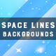 Space Lines | Backgrounds - GraphicRiver Item for Sale