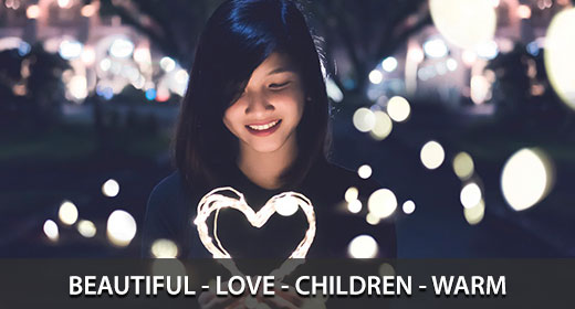 Beautiful - Love - Children - Warm