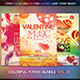 Colorful Flyers Bundle Vol. 35 Valentine Edition - GraphicRiver Item for Sale