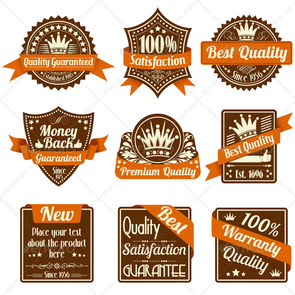 Quality and Guarantee Labels - Concepts Business