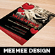 Valentine's Day Invitation - GraphicRiver Item for Sale