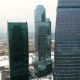 Skyscrapers Architecture in a City. Aerial. Urban Office Buildings. - VideoHive Item for Sale