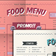 Fresh Food Menu - GraphicRiver Item for Sale