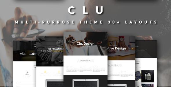 CLU Multi-Purpose Theme | Twitter Bootstrap - Portfolio Creative