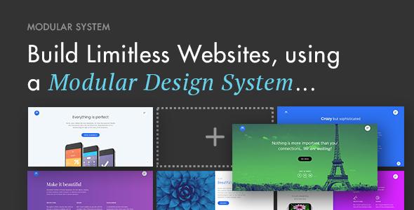 Modular Multi-Purpose Responsive WordPress Theme