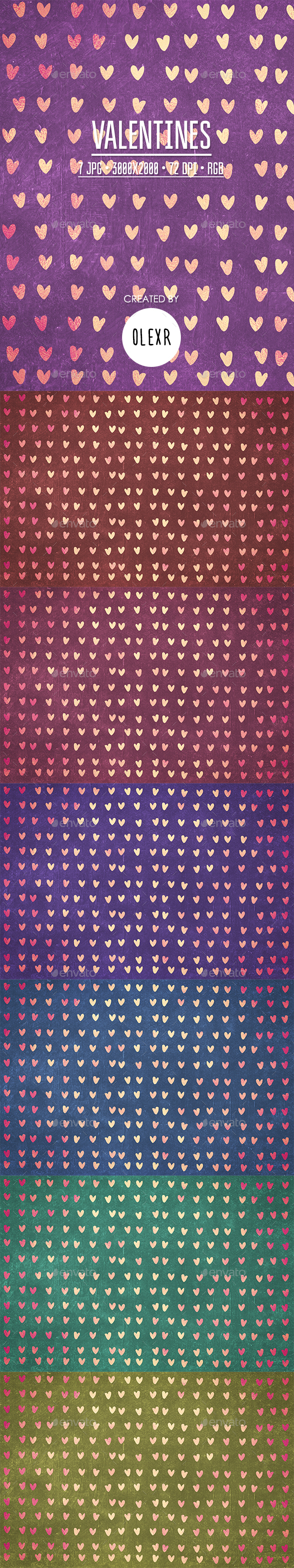Valentines Backgrounds - Abstract Backgrounds