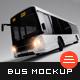 Bus Mockup - GraphicRiver Item for Sale