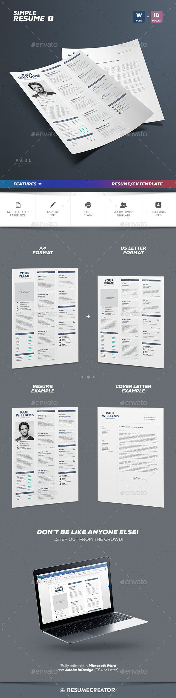 Simple Resume Vol.1