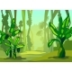 Illustration Morning in the Jungle. - GraphicRiver Item for Sale