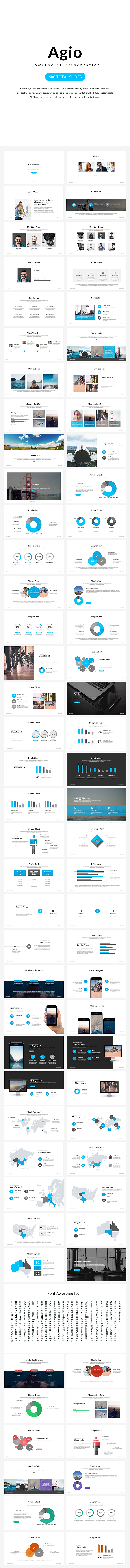 Agio Powerpoint Presentation - Business PowerPoint Templates