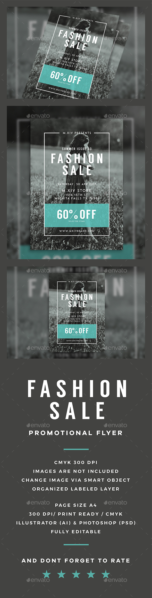 Fashion Sale Flyer - Events Flyers