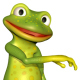 Frog Dancing - VideoHive Item for Sale