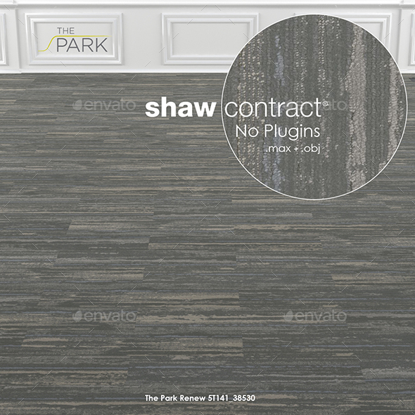 Shaw Contract Carpet The Park Renew No 1 - 3DOcean Item for Sale