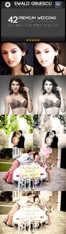 42 Wedding Style Lightroom Presets - Wedding Lightroom Presets
