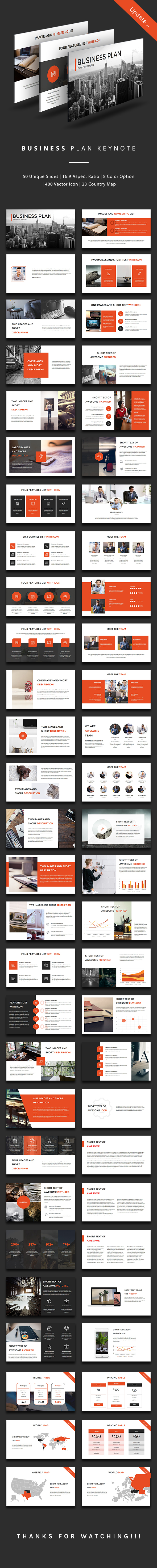 Business Plan Keynote - Business Keynote Templates