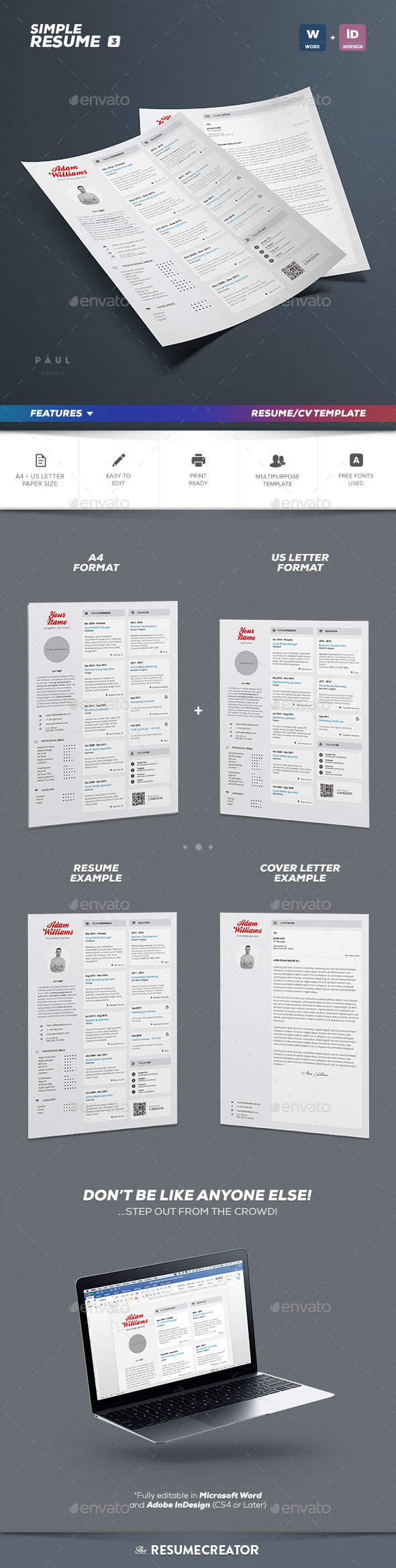 Simple Resume Vol. 3