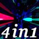 Beat Impact - VJ Loop Pack (4in1) - VideoHive Item for Sale