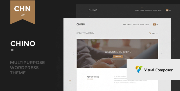Chino - Responsive Multipurpose WordPress Theme - Corporate WordPress
